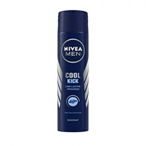 NIVEA COOL KICK MEN SPRAY 150 ML - OFFER 25%