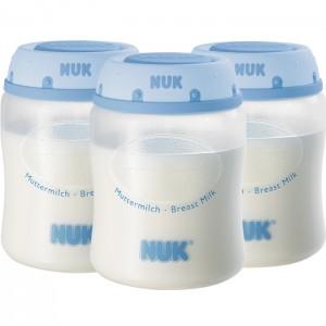 NUK 2062 BREAST MILK CONTAINER - 3PCS