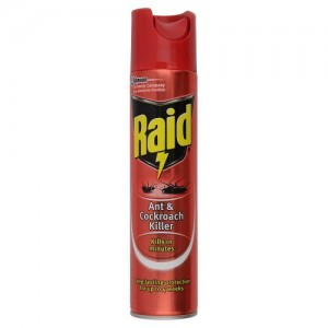 RAID COCKROACHES AND ANTS KILLER 300ML