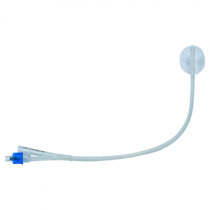 SILICONE CATHETER 24 - BLUE