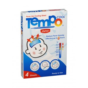 TEMPO FEVER GEL COOLING 4 SHEETS