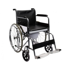 WHEELCHAIR WITH COMMODE 609