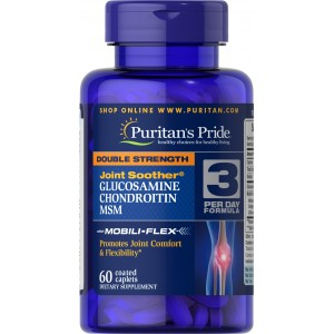 GLUCOSAMINE CHONDROITIN MSM 60CAP