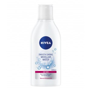 NIVEA MICELLAR WATER O2 MAKE UP remover DRY-TO-SENS-400ML