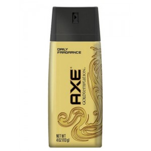 Axe body spray -deodorant-gold -15% offer